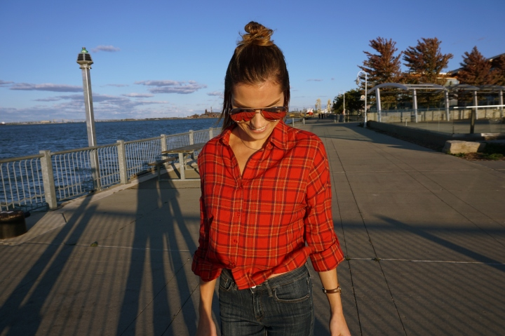 The Cropped Flannel
